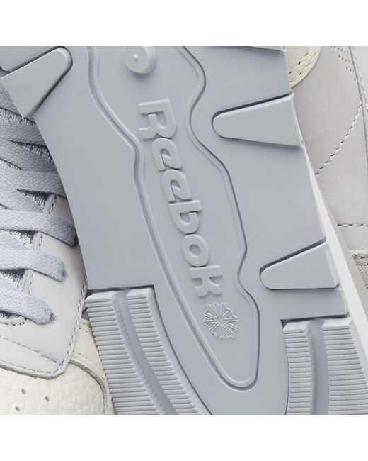 d827613b72da2 ... Reebok - Gray Classic Leather Ue for Men - Lyst ...