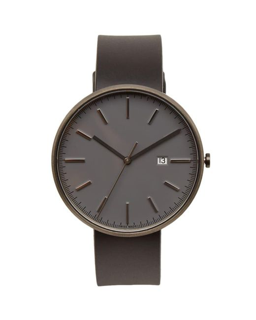 Uniform Wares - Gray M40 Date Watch for Men - Lyst