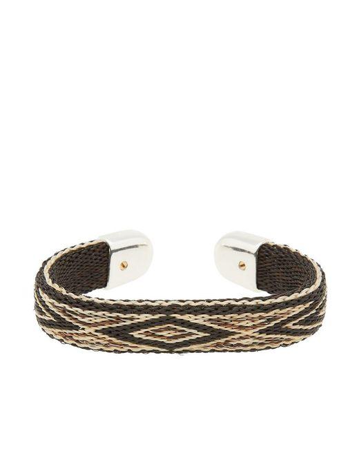 Chamula - Black Horse Hair Bendable Bracelet for Men - Lyst