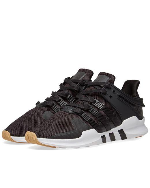 Adidas - Black Eqt Support Adv for Men - Lyst