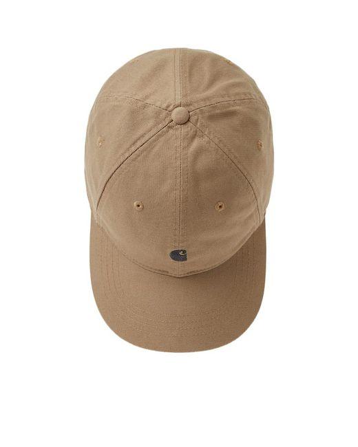19a3c255ded ... Carhartt WIP - Brown Carhartt Madison Logo Cap for Men - Lyst ...