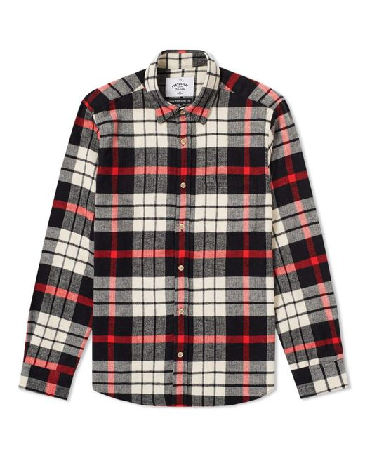 Portuguese Flannel - Black Abril Check Shirt for Men - Lyst