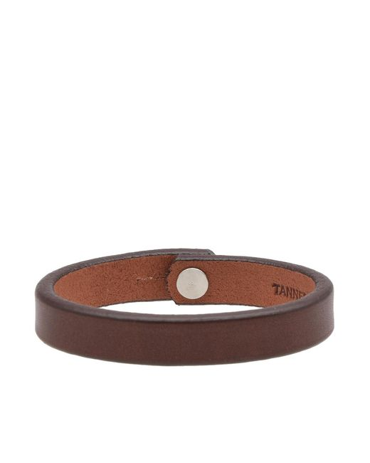 Tanner Goods | Brown Single Strap Wrist Band for Men | Lyst