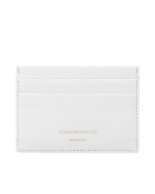 Common Projects | White Multi Card Holder | Lyst
