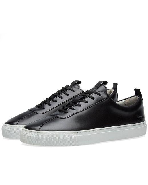GRENSON - Black Sneaker 1 for Men - Lyst