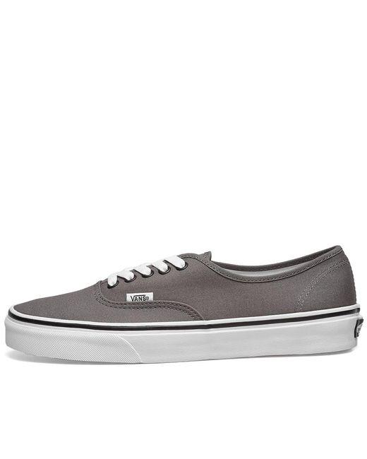1531f8414d7 ... Vans - Gray Ua Authentic for Men - Lyst ...