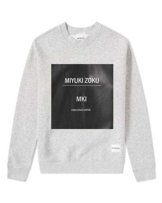 MKI Miyuki-Zoku - Gray Box Print Sweat for Men - Lyst