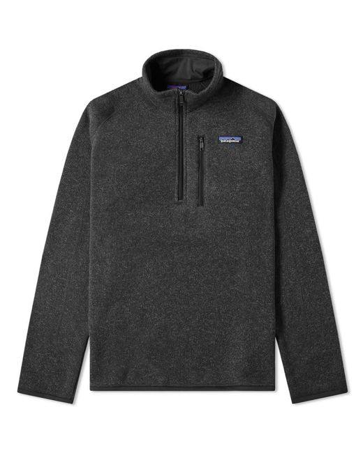 Patagonia - Black Better Sweater 1/4 Zip Jacket for Men - Lyst