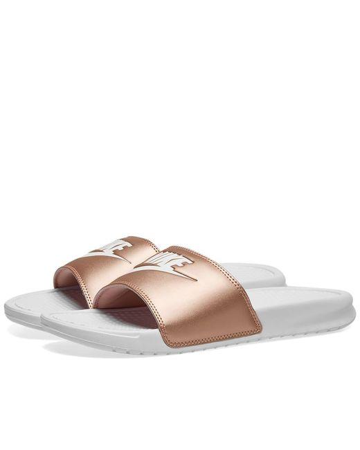 4285dcd39 Nike - Pink Benassi Jdi W for Men - Lyst ...