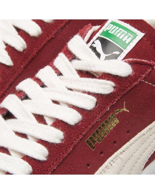 eb36c9c6d5d7 ... PUMA - Red Suede Og Premium for Men - Lyst ...