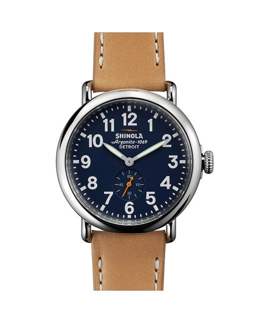 Shinola - Multicolor Runwell 41mm Watch for Men - Lyst