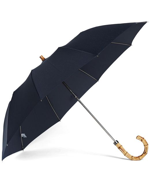 London Undercover - Blue Whangee Telescopic Umbrella - Lyst