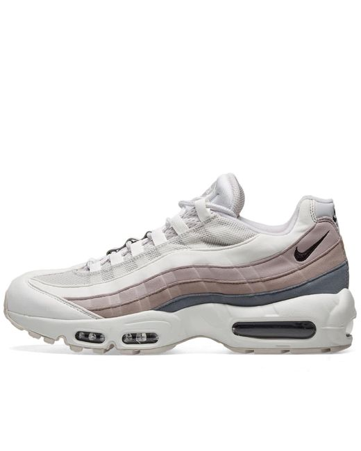 aa680101a1ea3 ... Nike - White Air Max 95 W for Men - Lyst ...