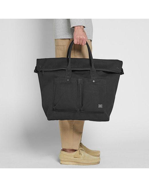 1469145574d9 ... Head Porter - Black Banff Large Tote Bag for Men - Lyst ...