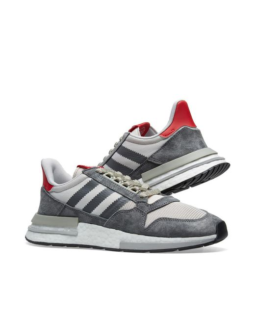 bf1f542c0563 Lyst - adidas Zx 500 Rm in Gray for Men - Save 16.84210526315789%
