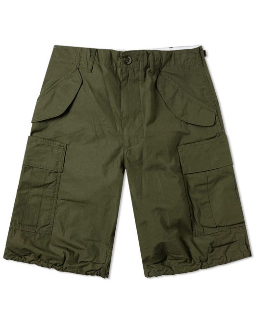 Beams Plus - Green Military Cargo Shorts for Men - Lyst