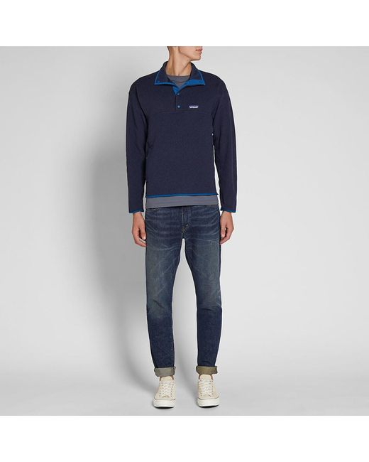... Patagonia - Blue Lightweight Better Sweater Marsupial Pullover for Men  - Lyst e299e6aea