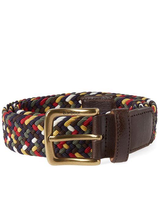 Barbour | Multicolor Woven Stretch Belt | Lyst