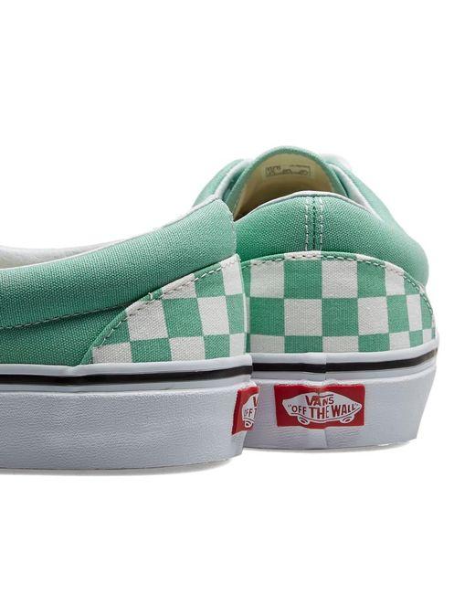 df57ff8833 ... Vans - Green Ua Era Checkerboard for Men - Lyst ...