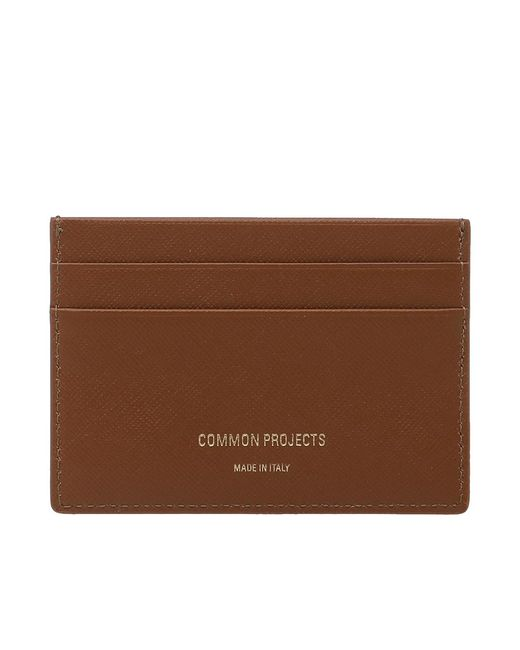 Common Projects   Brown Multi Card Holder   Lyst