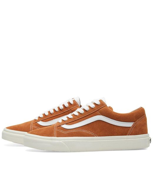271c089b78b ... Vans - Brown Old Skool for Men - Lyst ...