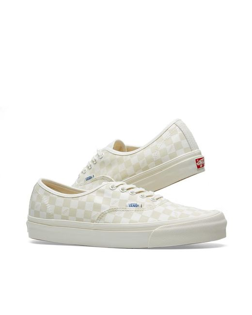 a88562cc0d Lyst - Vans Og Authentic Lx in White for Men - Save 53%