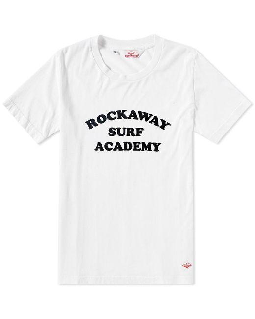 Battenwear - White Rockaway Tee for Men - Lyst