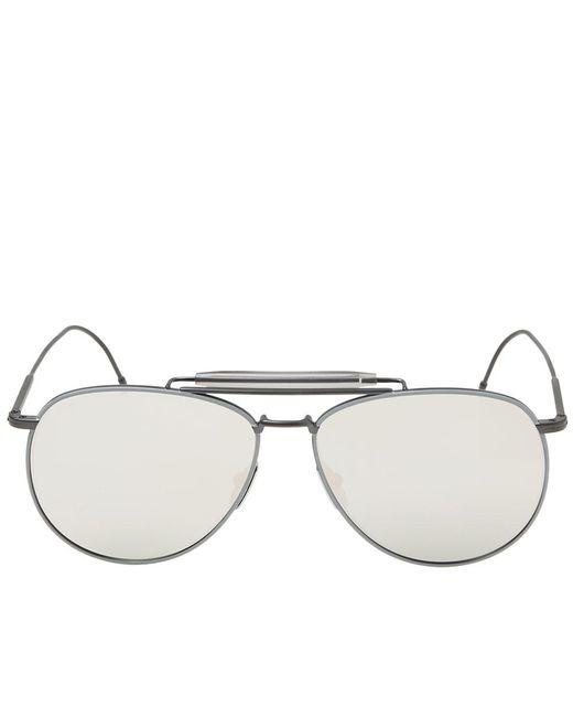 b1a9233e274 ... Thom Browne - Black Tb-015 Sunglasses for Men - Lyst ...
