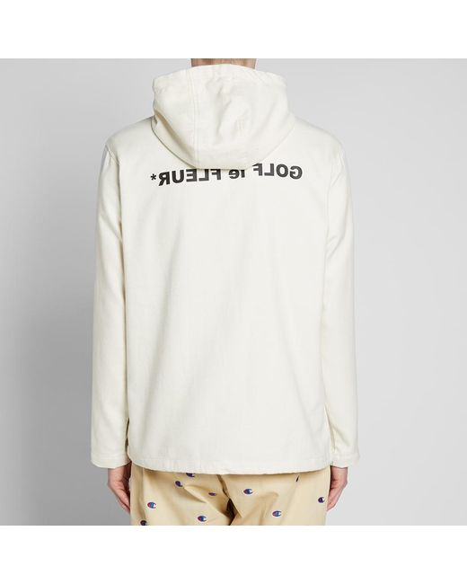 1d834f5bb93ae0 Lyst - Converse Golf Le Fleur X Anorak in White for Men - Save 37%