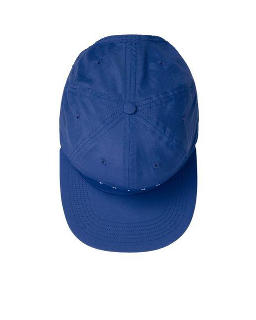 efe5a489eaee ... Futur - Blue Nylon Logo Cap for Men - Lyst ...