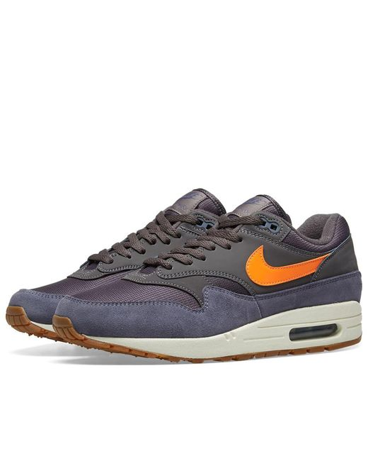 10bc5602be Nike Air Max 1 in Gray for Men - Save 34% - Lyst