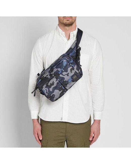 0705425c00 ... Head Porter - Blue Jungle Camo Waist Bag for Men - Lyst