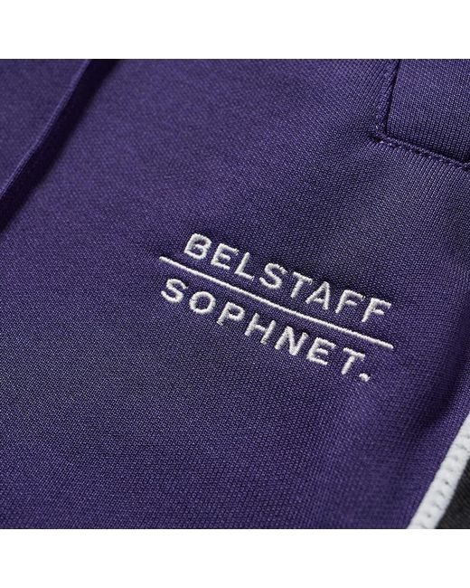 b33bba627b13cc ... Belstaff - Purple X Sophnet. Deepdale Taped Track Pant for Men - Lyst  ...