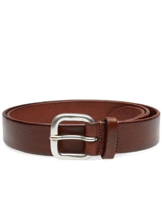 Andersons - Brown Anderson's Burnished Leather Belt for Men - Lyst