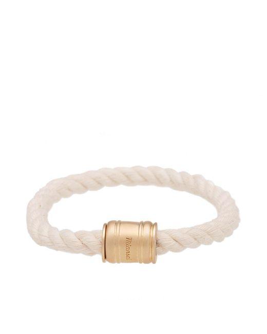 Miansai | White Single Casing Bracelet | Lyst