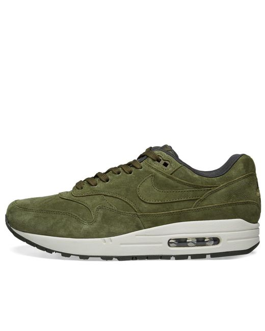 sports shoes f0474 eb952 ... Nike - Green Air Max 1 Premium for Men - Lyst ...