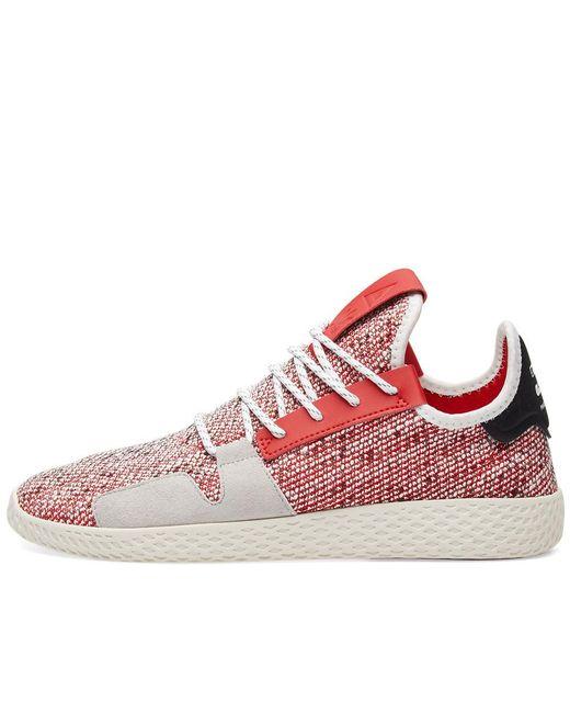 huge selection of c293a b41c1 ... Adidas Originals - Red Adidas Originals By Pharrell Williams Solarhu  Tennis V2 for Men - Lyst ...