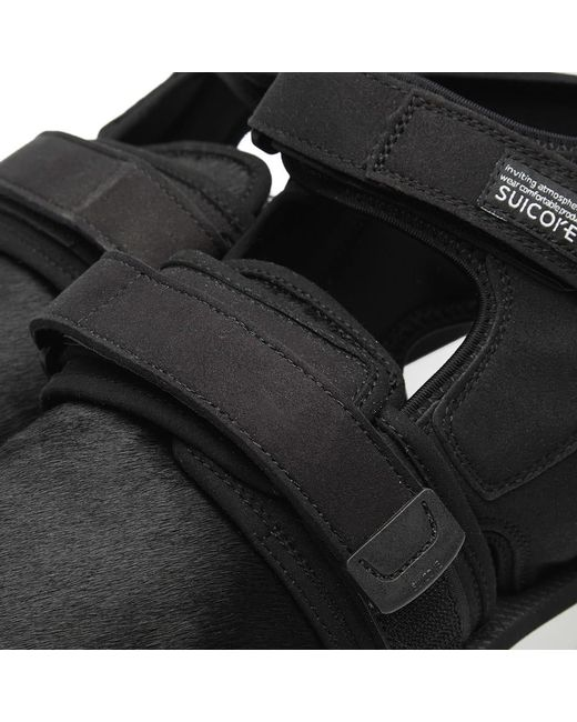 5c99fb7b4a19 John Elliott X Suicoke Sandals in Black for Men - Save 55% - Lyst