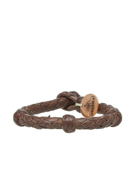 Chamula - Brown Round Bracelet - Lyst