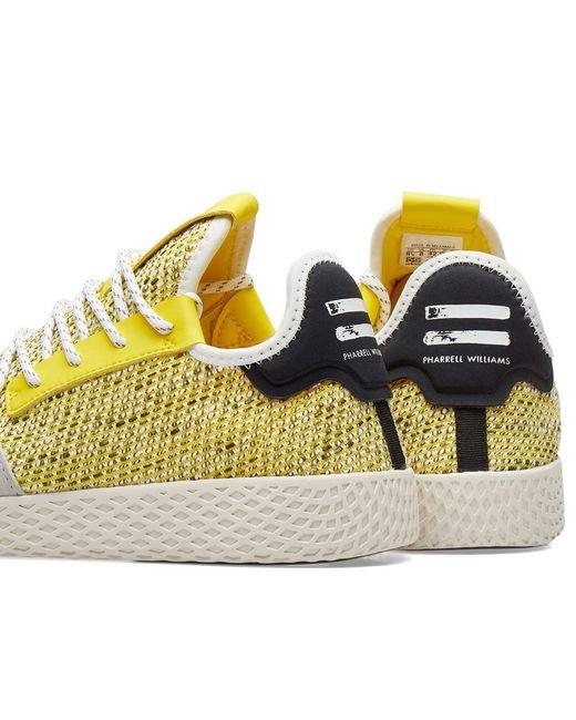 6e65a9518 ... Adidas Originals - Yellow Adidas Originals By Pharrell Williams Solarhu Tennis  V2 for Men - Lyst ...