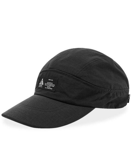 67a749fe Nike - Black Acg Tailwind Visor Cap for Men - Lyst ...
