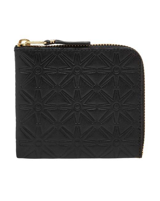 Comme des Garçons - Black Comme Des Garcons Sa310ea Embossed Wallet for Men - Lyst