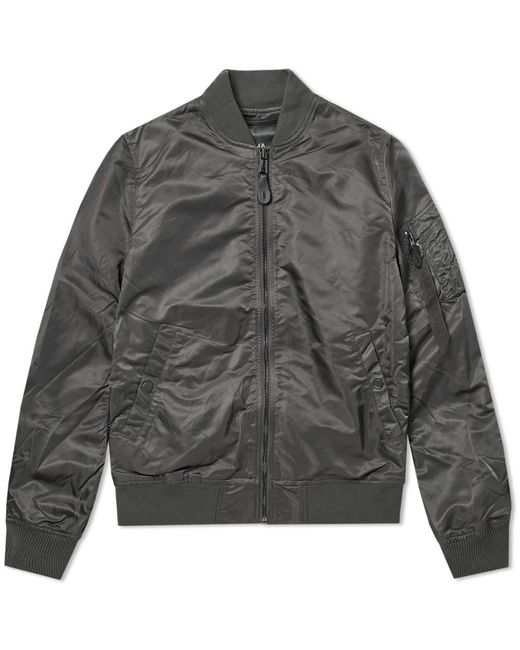 Alpha Industries - Gray Ma-1 Vf Lw Bomber for Men - Lyst