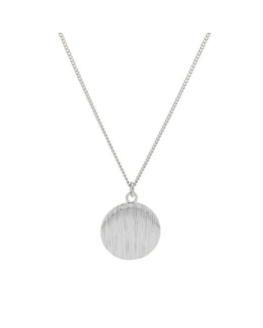 A.P.C. - Metallic Stripe Pendant Necklace for Men - Lyst