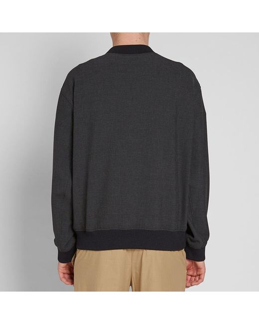 187fea4cd ... KENZO - Gray Woven Dragon Embroidered Crew Sweat for Men - Lyst ...