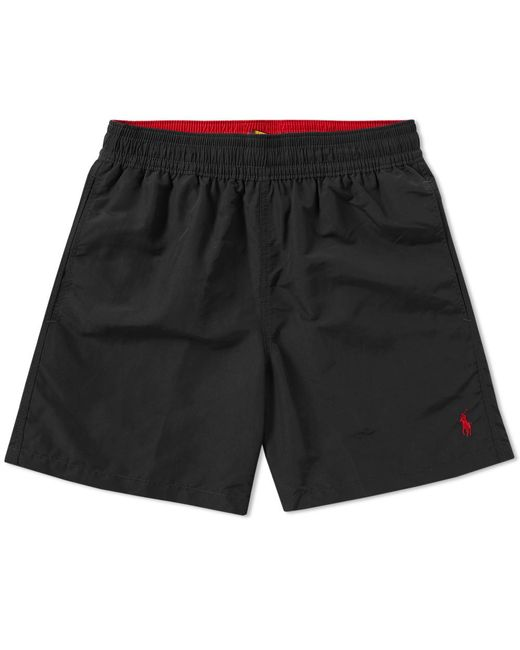 Polo Ralph Lauren - Black Swim Short for Men - Lyst