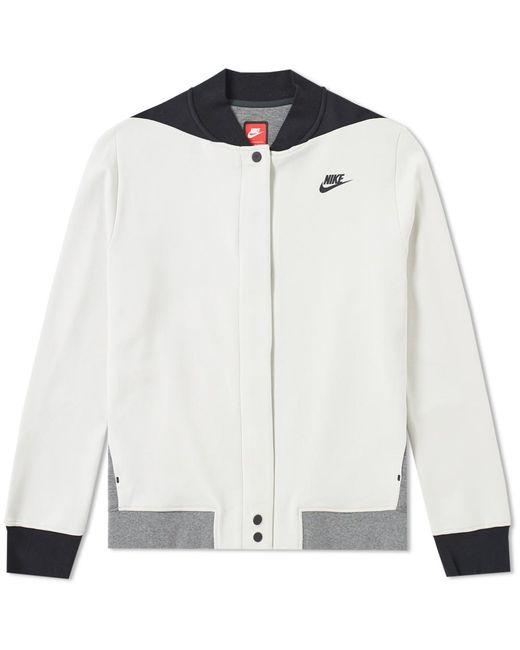 Nike | Gray Tech Fleece Destroyer Jacket W | Lyst