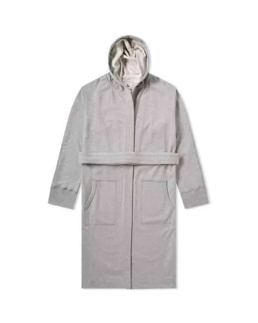 Reigning Champ Hooded Robe in Gray for Men - Lyst