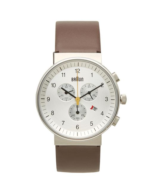 Braun - Brown Bn0035 Chronograph Watch for Men - Lyst