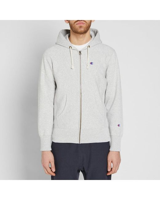beef49383d1f Champion Classic Hoody in Gray for Men - Save 42% - Lyst
